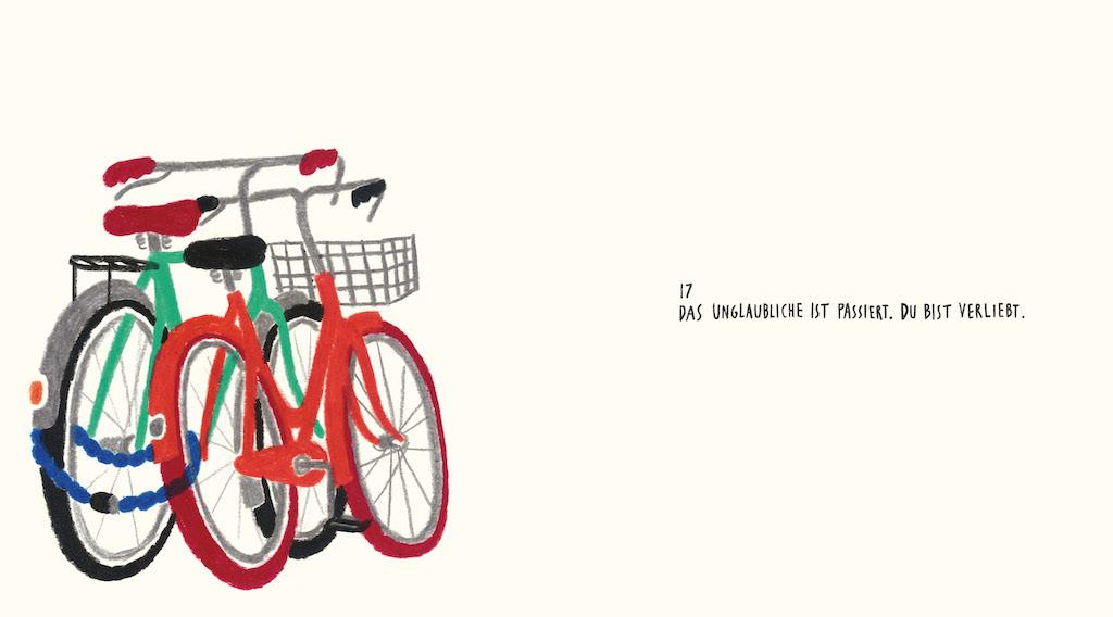 Illustration Fahrräder