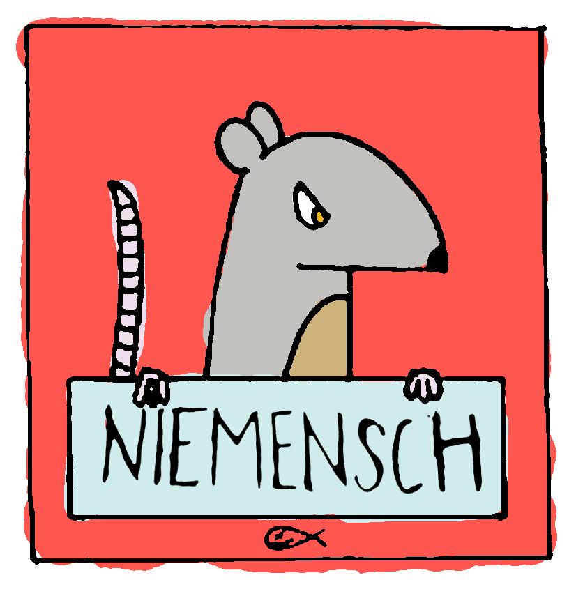 """Gastschreibende: Lukas J. Wittig und Paul Ninus Naujoks vom Künstler*innen Kollektiv """"Niemensch"""""""