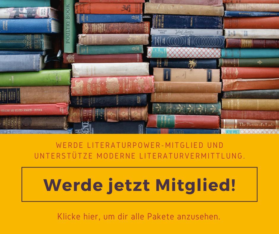 Literaturpower Mitgliedschaft