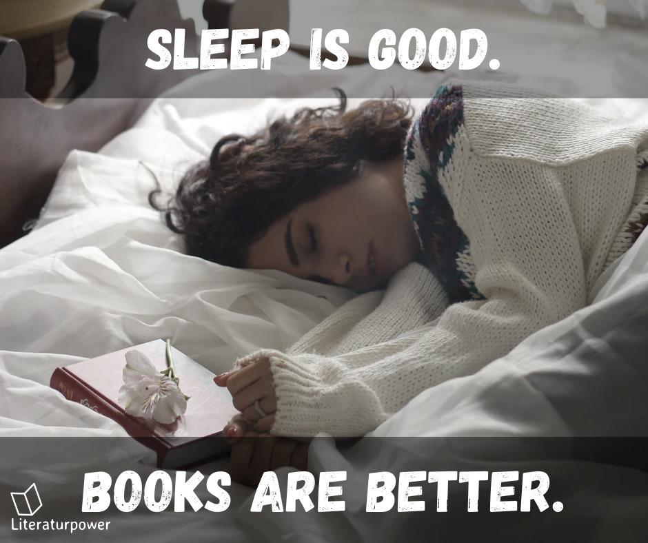 Meme Books Over Sleep