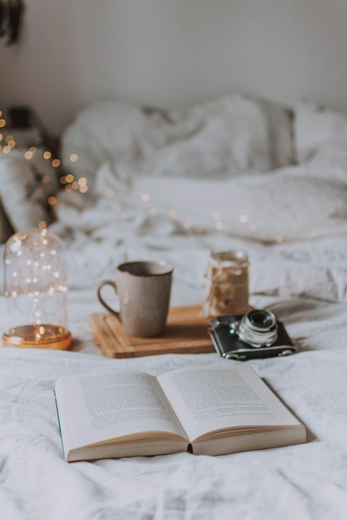 Bücher lesen und entspannen