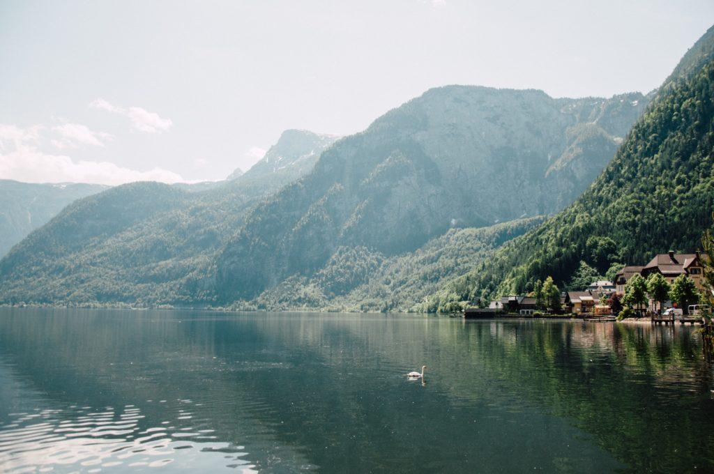 Landschaft, die Ruhe und Sinn schenkt