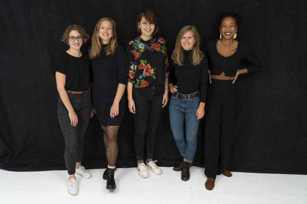 Die fünf Gründerinnen des &Töchter Verlag